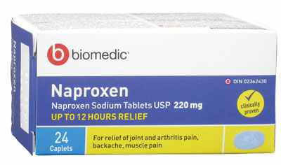 نابروكسين Naproxen  ( الإستخدام , الجرعة , الأثار الجانبية وتحذيرات الحمل والإرضاع )