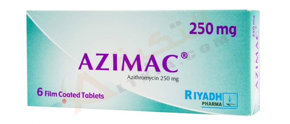 الأزيثرومايسين Azithromycin ( الإستخدام , الجرعة , الأثار الجانبية وتحذيرات الحمل والإرضاع )