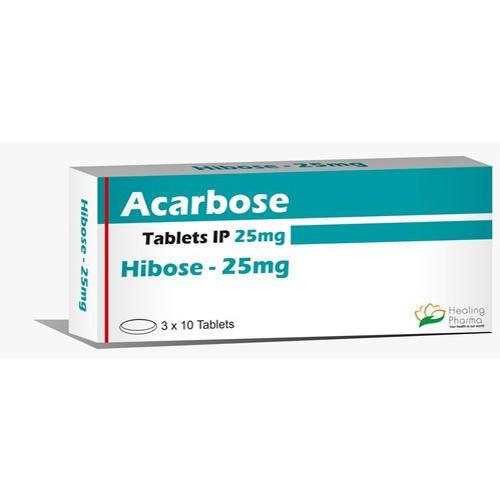 hibose 25 mg acarbose tablet 500x500 1