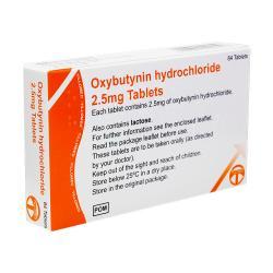 oxybutynin hydrochloride M