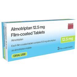 almotriptan tablets M
