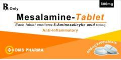 Westren Pharma Mesalamine Tablets for Human Medicine Aminosalicylic Acid