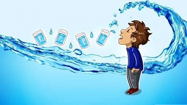 الاضرار الناتجه عن نقص شرب الماء