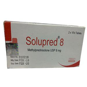 solupred tablet 8 mg